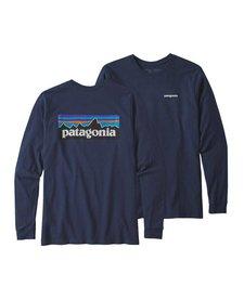 Patagonia Mens L/S P-6 Logo Responsible Tee