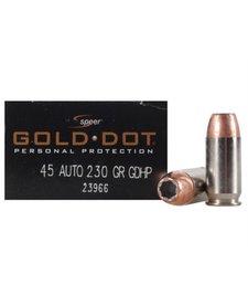 Speer Gold Dot 45 Auto 230gr GDHP
