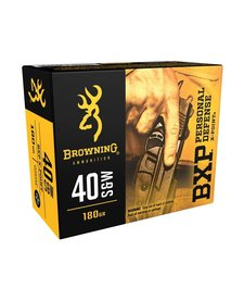 Browning 40 S&W BXP 180gr X-Point