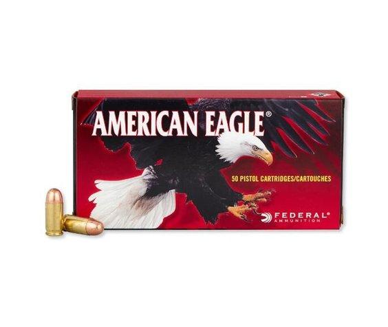 Federal American Eagle 380acp 95gr FMJ