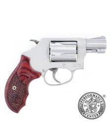 Smith & Wesson 637 38 Spl Basket Grip