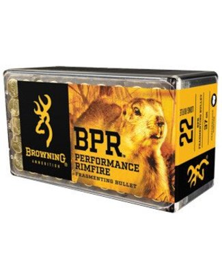 Browning Browning 22LR BPR 37gr Fragmenting 50rd