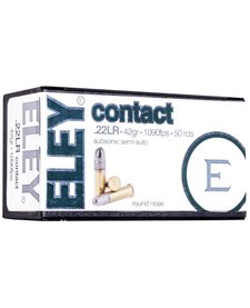 Eley Contact 22LR Subsonic 42gr