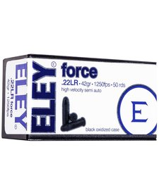 Eley Force 22LR High Velocity 42gr