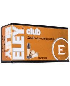 Eley Club 22LR Average Velocity 40gr