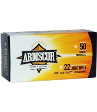 Armscor 22LR 36gr 50rd High Velocity HP
