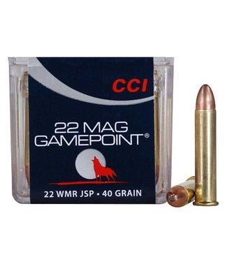 CCI CCI GamePoint 22 WMR 40gr JSP