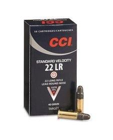 CCI Standard Velocity 22LR 40gr LRN 50rd