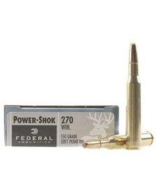 Federal Power-Shok 270 Win 150gr SP RN