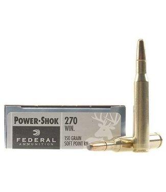 Federal Federal Power-Shok 270 Win 150gr SP RN