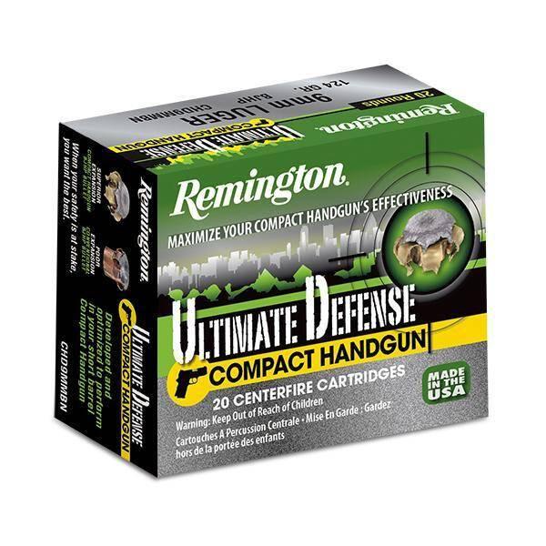 Remington 380auto 20rd Ultimate Defense BJHP