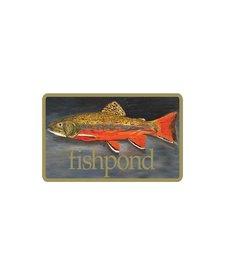 """Fishpond Brookie Sticker 5"""""""