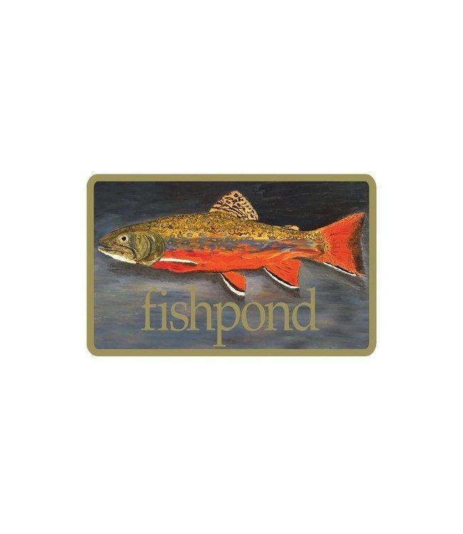 Fishpond Brookie Sticker