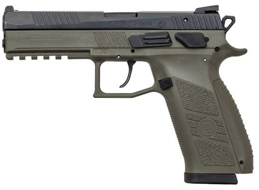 CZ P-09 OD Green 9mm 19rd
