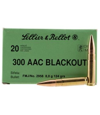 Sellier & Bellot 300 AAC Blackout 124gr 20rd