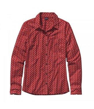 Patagonia Patagonia Women's LS Brookgreen Shirt - Size 4