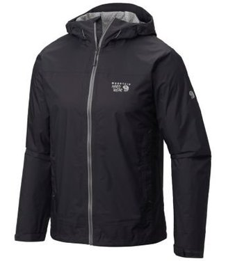Mountain Hardwear Mountain Hardwear Men's Plasmic Ion Jacket - Black - Large