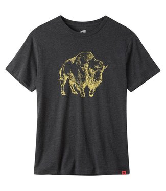 Mountain Khakis Mountain Khakis Men's Bison Illustration Tee - Medium