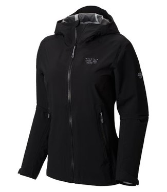 Mountain Hardwear Mountain Hardwear Women's Stretch Ozonic Jacket - Black - Medium