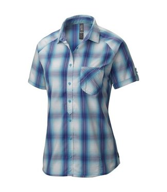 Mountain Hardwear Mountain Hardwear Women's TerraLake Short Sleeve Shirt - Atoll - Medium