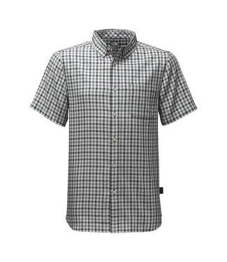The North Face The North Face Men's Short-Sleeve Passport Shirt - Asphalt Grey Plaid - Small