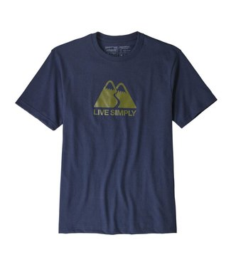 Patagonia Patagonia Men's Live Simply Winding Responsibili-Tee - Medium