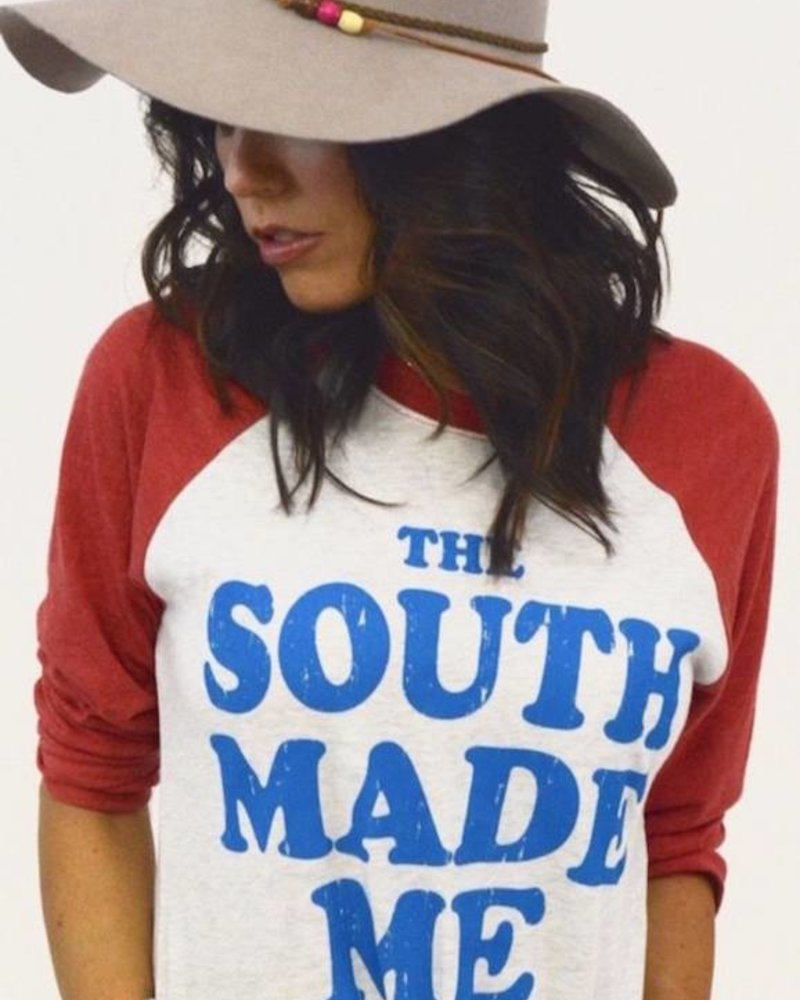 Country Deep Southern Made Raglan