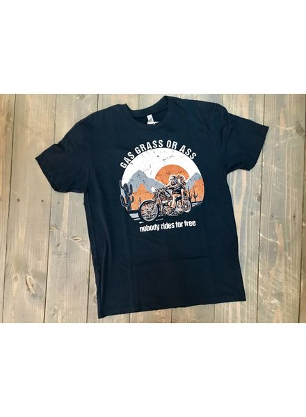 Country Deep No One Rides For Free Tee