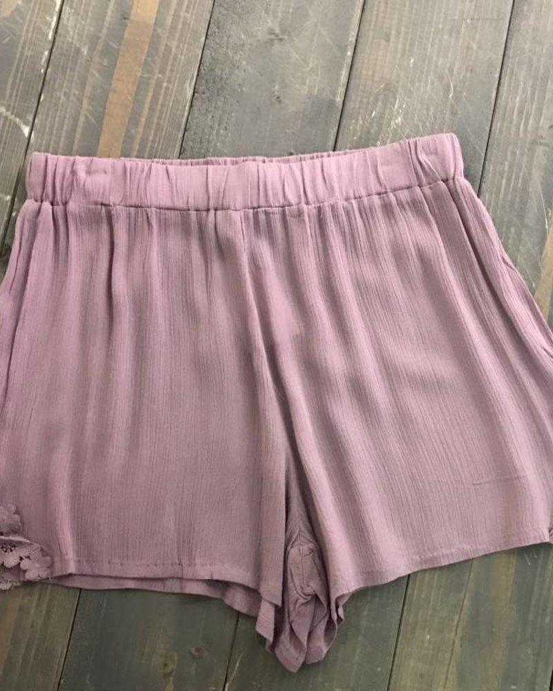 Fleur Lace Shorts