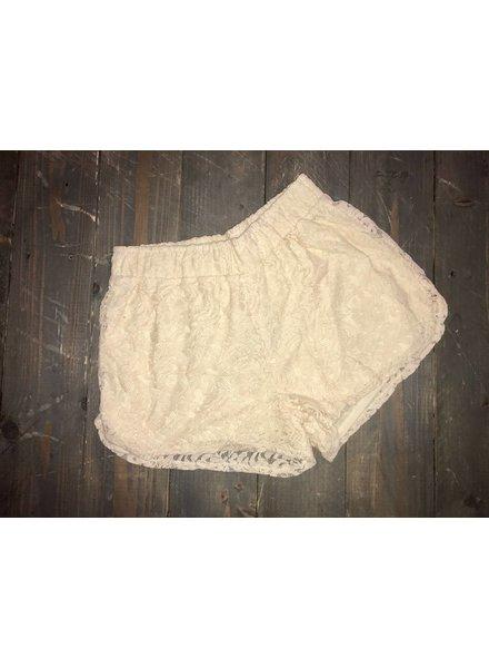 Vanilla Lace Shorts