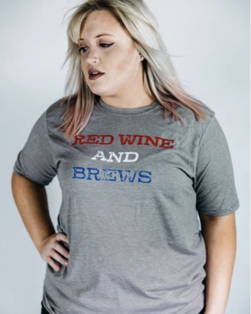 Sibling Rivalry Red Wine & Brews Tee