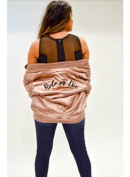 Ride Or Die Bomber Jacket