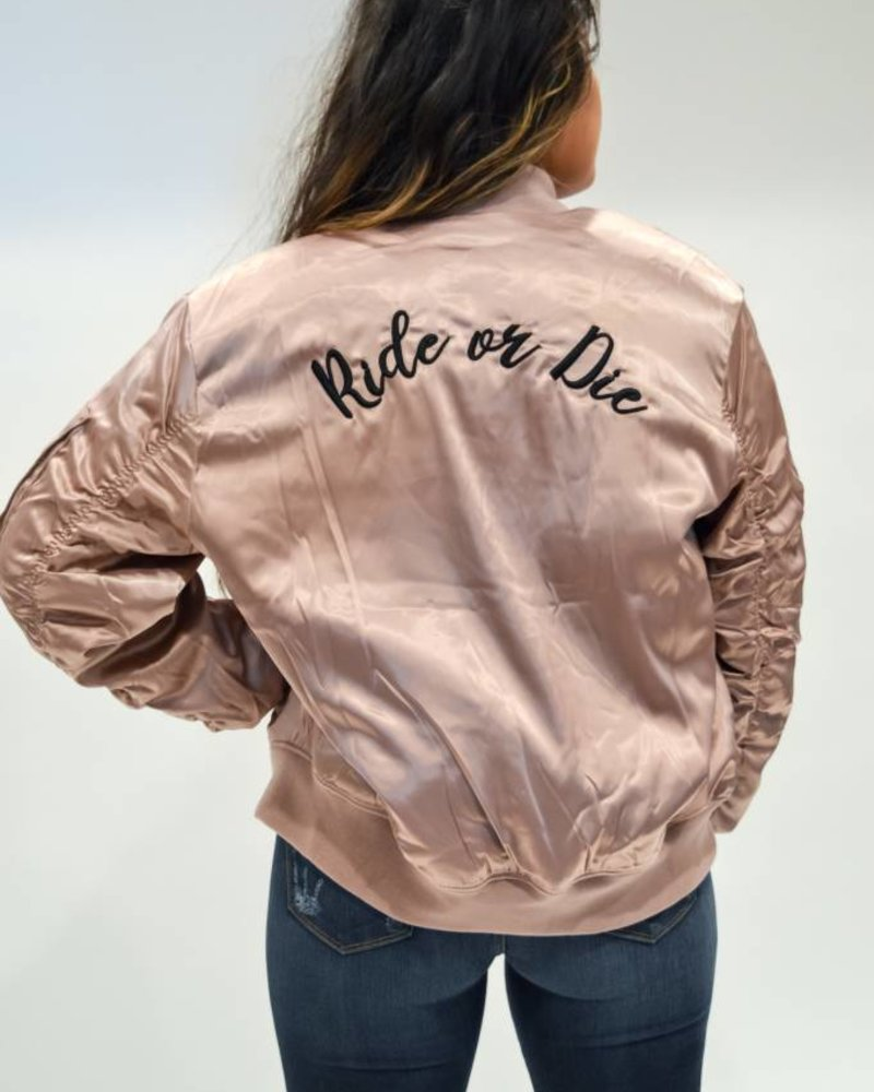 Ride Or Die Bomber Jacket