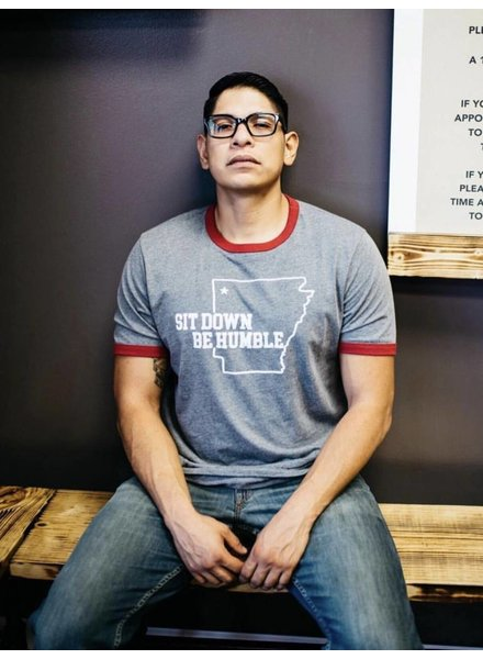Sibling Rivalry Sit Down Ringer Tee
