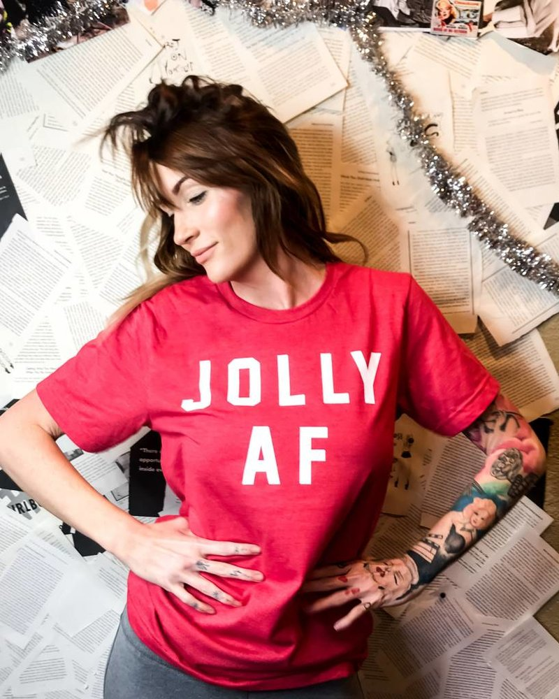 Sibling Rivalry Jolly AF Tee