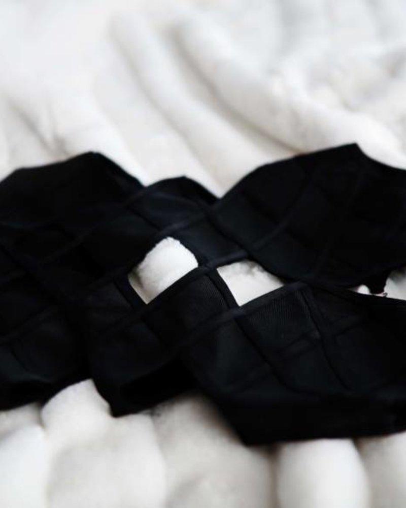 Rhombus Cut Bodysuit