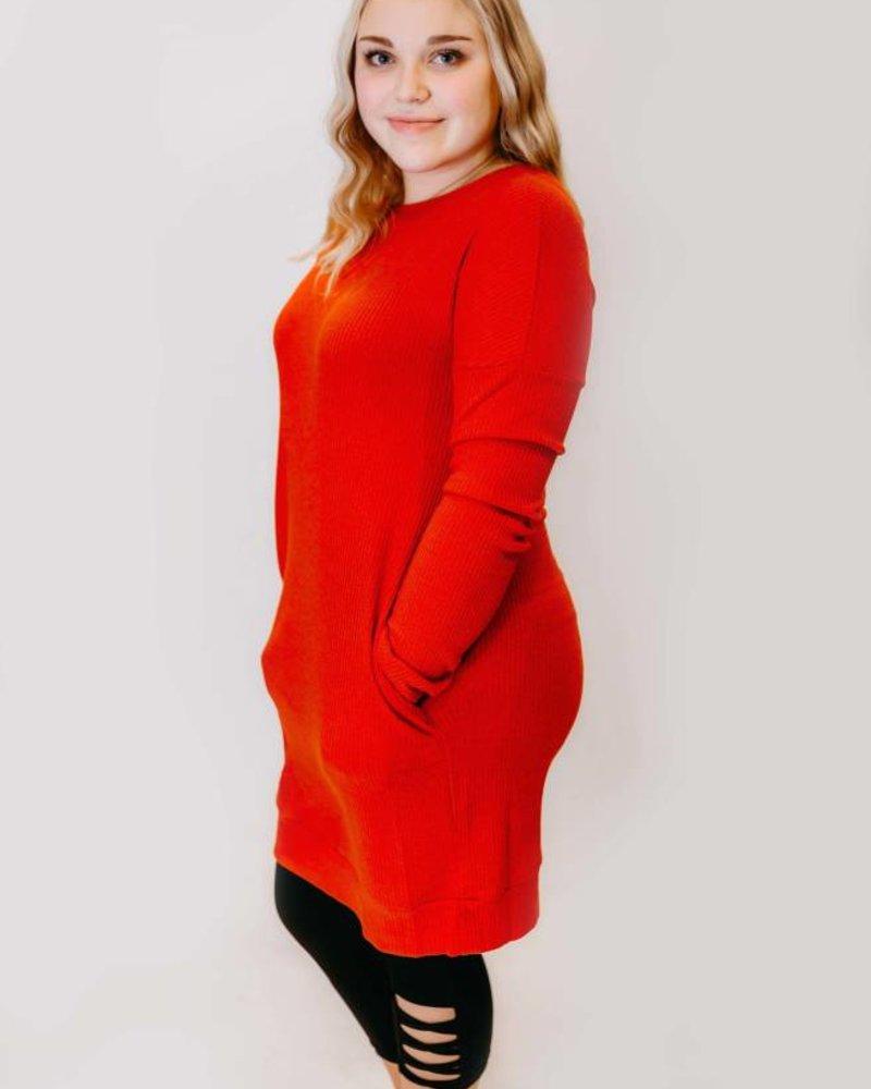 It's Lit Sweater Dress