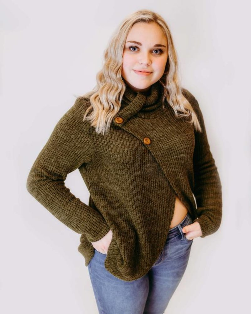 Moss Envy Sweater
