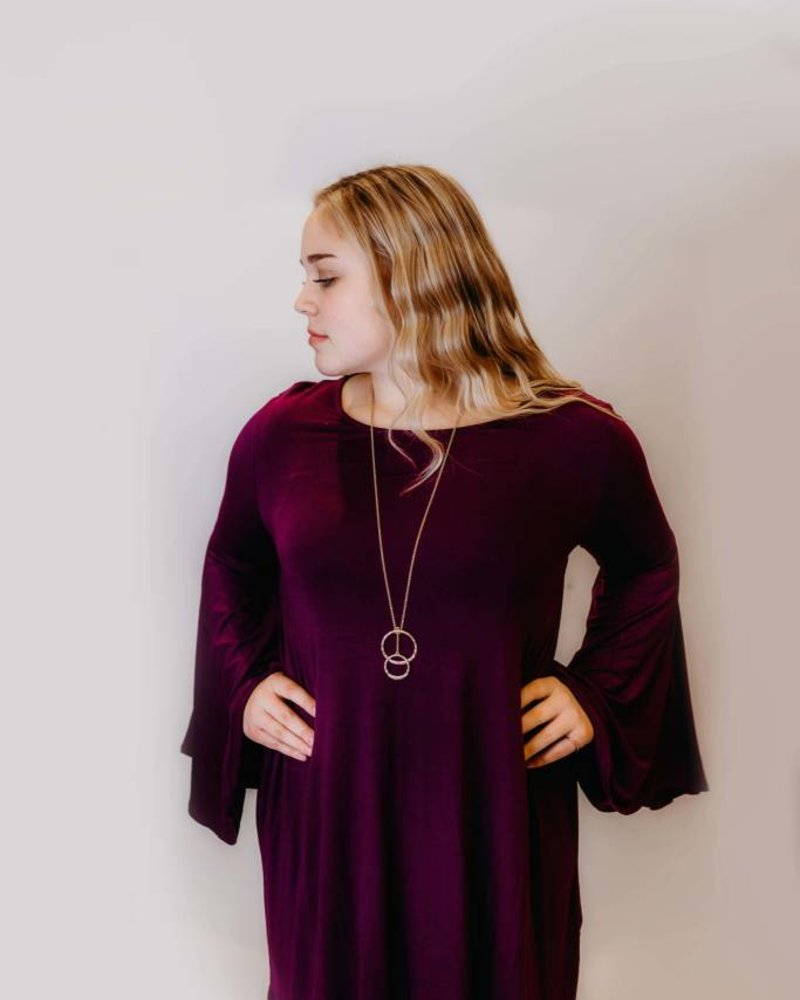 Tamara Gayle Bell Sleeve Dress