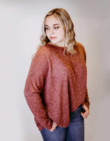 Getting Cozy Sweater
