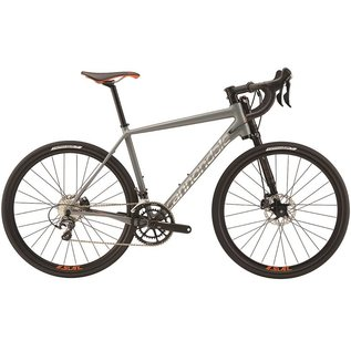 Cannondale Cannondale Slate Ultegra Bicycle Grey/Org Lrg