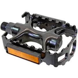 Sunlite PEDALS SUNLT SPORT 1pc ALY 9/16in BLK