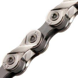 KMC KMC X8.93 Chain 1/2x3/32 Nickel/DrkSil