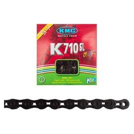 KMC CHAIN KMC 1/2x1/8 K710SL BLK 100L