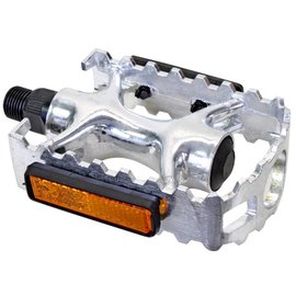Sunlite PEDALS SUNLT SPORT 1pc ALY 9/16in SIL