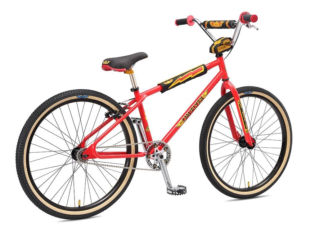 SE Bikes SE OM Flyer 26\'\' 2018 Red - Icycle Texas