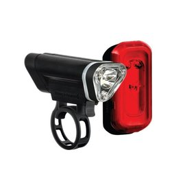 Blackburn Blackburn Local Front & Rear Lights Red/Blk 50/10 lumen