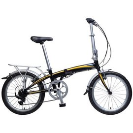 KHS KHS F20-H7 Folding Bike 7 Speed Blk
