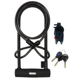 Serfas Serfas UL-290C U-Lock W/Brkt & Cable