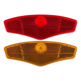 Sunlite Sunlite Wheel Reflector Set Short Red/Ylw
